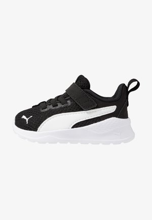 ANZARUN LITE UNISEX - Neutral running shoes - black/white