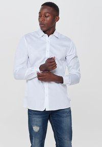 Only & Sons - LANGARM - Shirt - white - 0