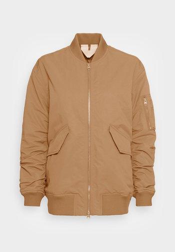 Bomber Jacket - camel