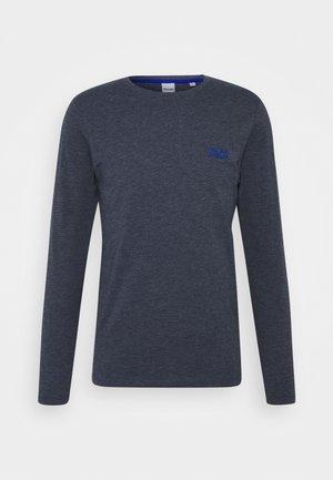 JJADAM TEE CREW NECK - Långärmad tröja - navy blazer
