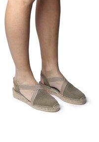 Toni Pons - VERDI - Wedge sandals - khaki - 0