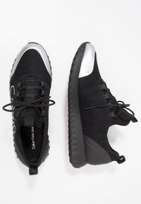 Calvin Klein Jeans - Trainers - black/silver - 1