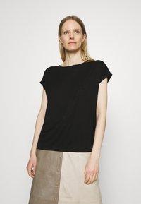 Opus - SALMI - Print T-shirt - black - 0