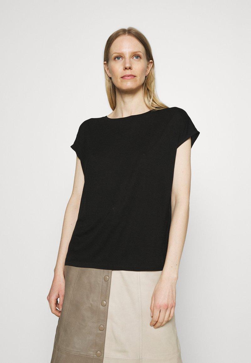 Opus - SALMI - Print T-shirt - black