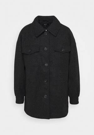ONLLIVA SHACKET - Classic coat - black