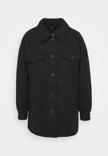 ONLLIVA SHACKET - Classic coat - black