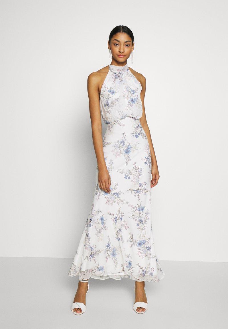 Forever New - HALTER DRESS - Denní šaty - bluebell