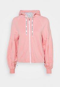 Marc Cain - Zip-up sweatshirt - light pink - 0