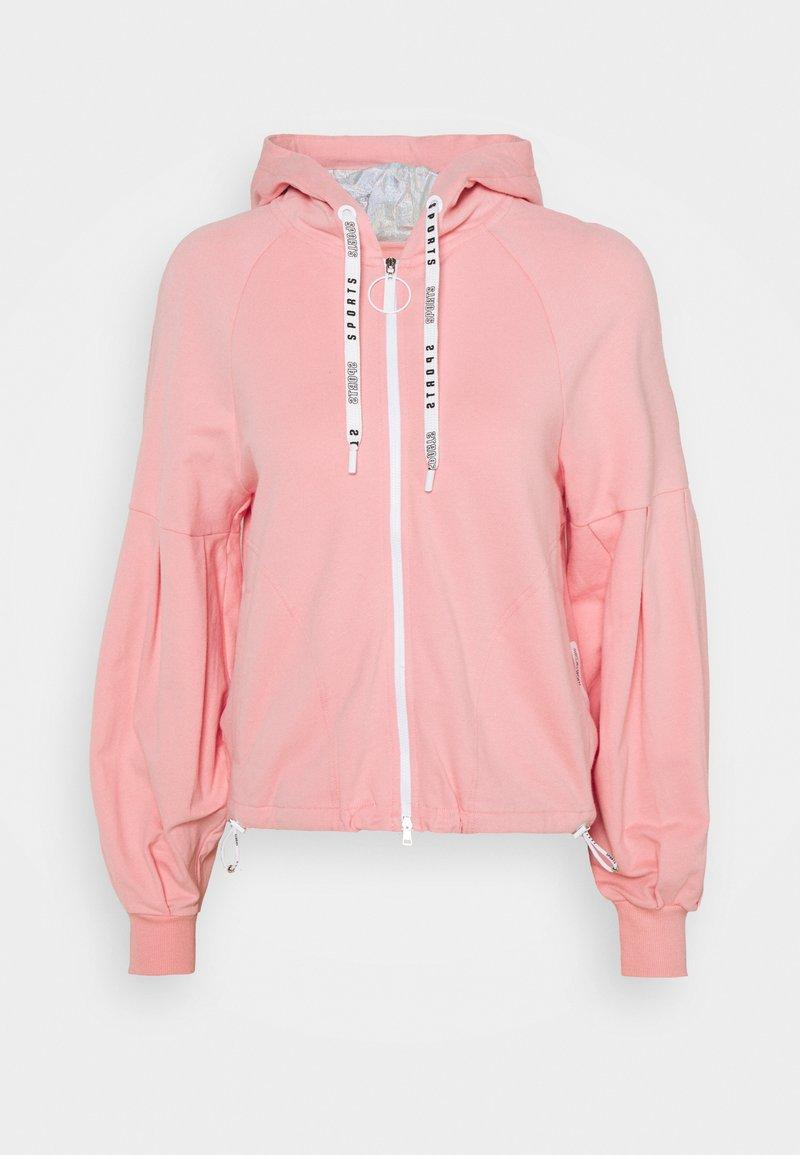 Marc Cain - Zip-up sweatshirt - light pink