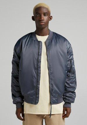QUILTED  - Bomber Jacket - dark grey