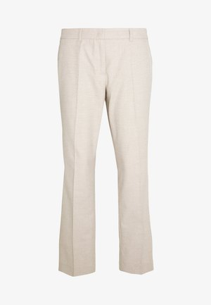 Trousers - brown pann