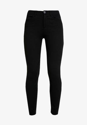 RIDER PANTS - Trousers - black