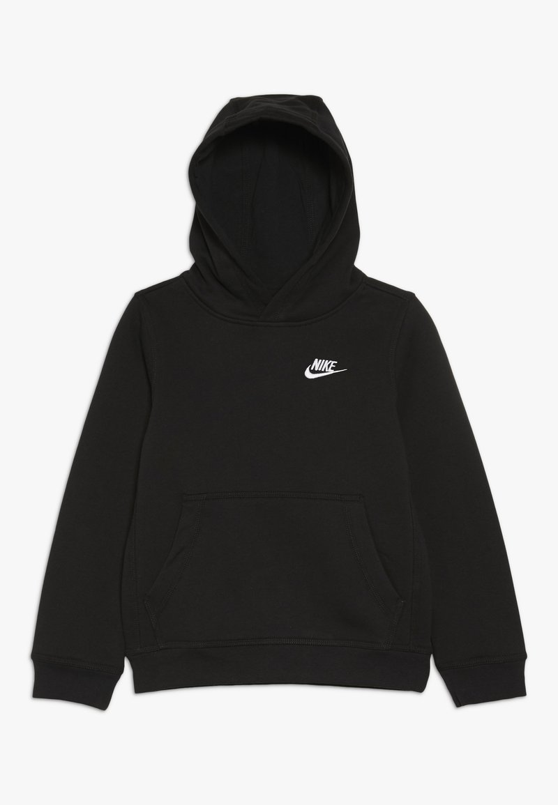 Nike Sportswear - HOODIE CLUB - Sweat à capuche - black/white