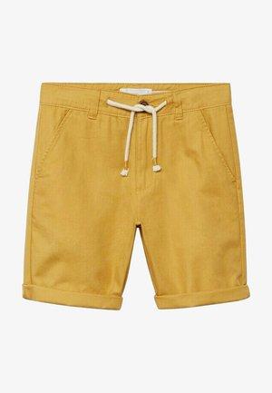 CALATEA - Shorts - senfgelb