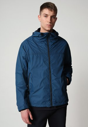 Outdoor jacket - poseidon blue