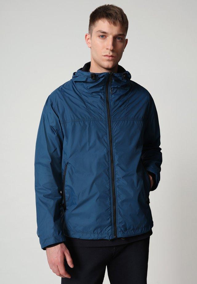 A-CIRCULAR - Outdoorjas - poseidon blue