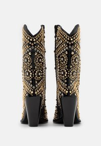 Jeffrey Campbell - STUDLEY - High heeled ankle boots - black/gold - 3