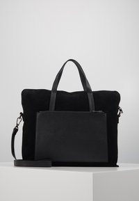 Zign - LEATHER - Aktovka - black - 0