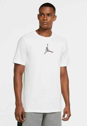Print T-shirt - weiss / schwar