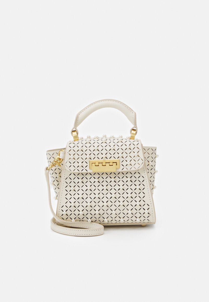 ZAC Zac Posen - EARTHA MINI TOP HANDLE CROSSBODY - Taška s příčným popruhem - swan