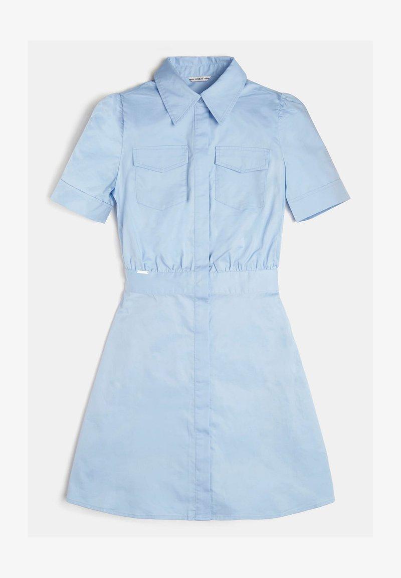 Guess - Shirt dress - blau