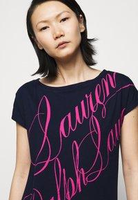 Lauren Ralph Lauren - UPTOWN - Print T-shirt - french navy - 3
