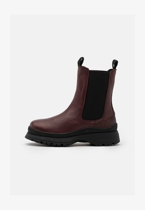 SLFLUCY - Platform ankle boots - winetasting