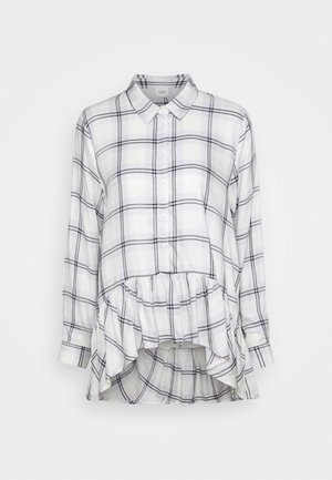 JDYSTAY HIGH LOW SOLID - Button-down blouse - pastel lilac