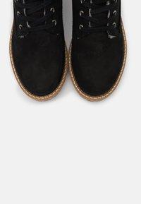Vero Moda Wide Fit - VMSINEA BOOT WIDE FIT - Winter boots - black - 5