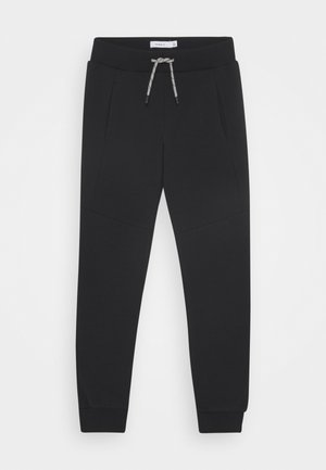NKMOLEVAN UNB - Tracksuit bottoms - black