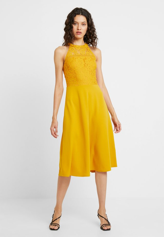 Day dress - golden yellow