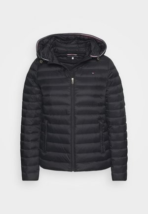 ESSENTIAL - Piumino - black