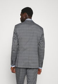 Selected Homme - SLHSLIM-NAS GREY CHECK SUIT - Suit - grey/blue/white - 3