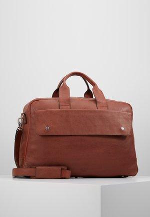 THOR BAG - Weekend bag - cognac