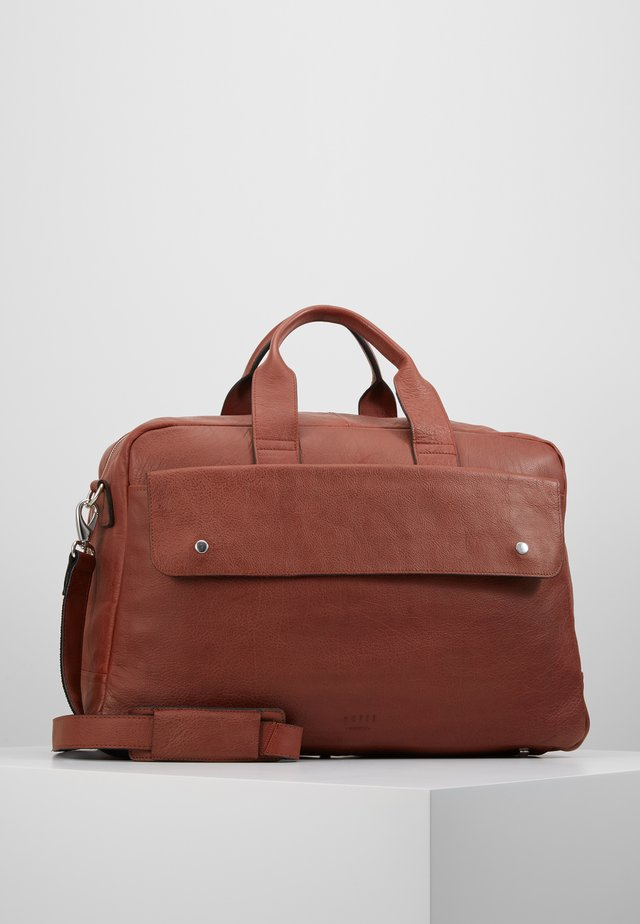 THOR BAG - Torba weekendowa - cognac