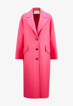 Classic coat - hot pink