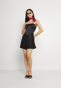 Gina Tricot - JANE SKIRT - Mini skirt - black - 1