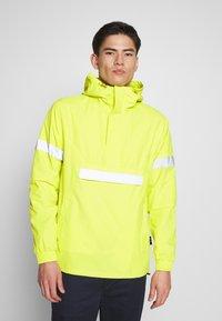 INDICODE JEANS - COLLEGE - Windbreaker - neon yellow - 0