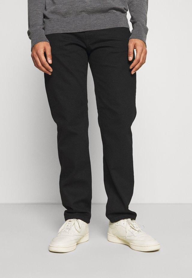 DOC NIGHT JEANS - Straight leg jeans - black