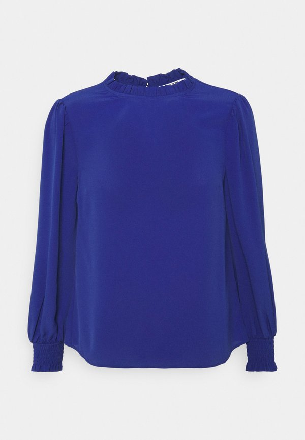 Dorothy Perkins Petite SHIRRED CUFF - Bluzka - cobalt/niebieski XECG