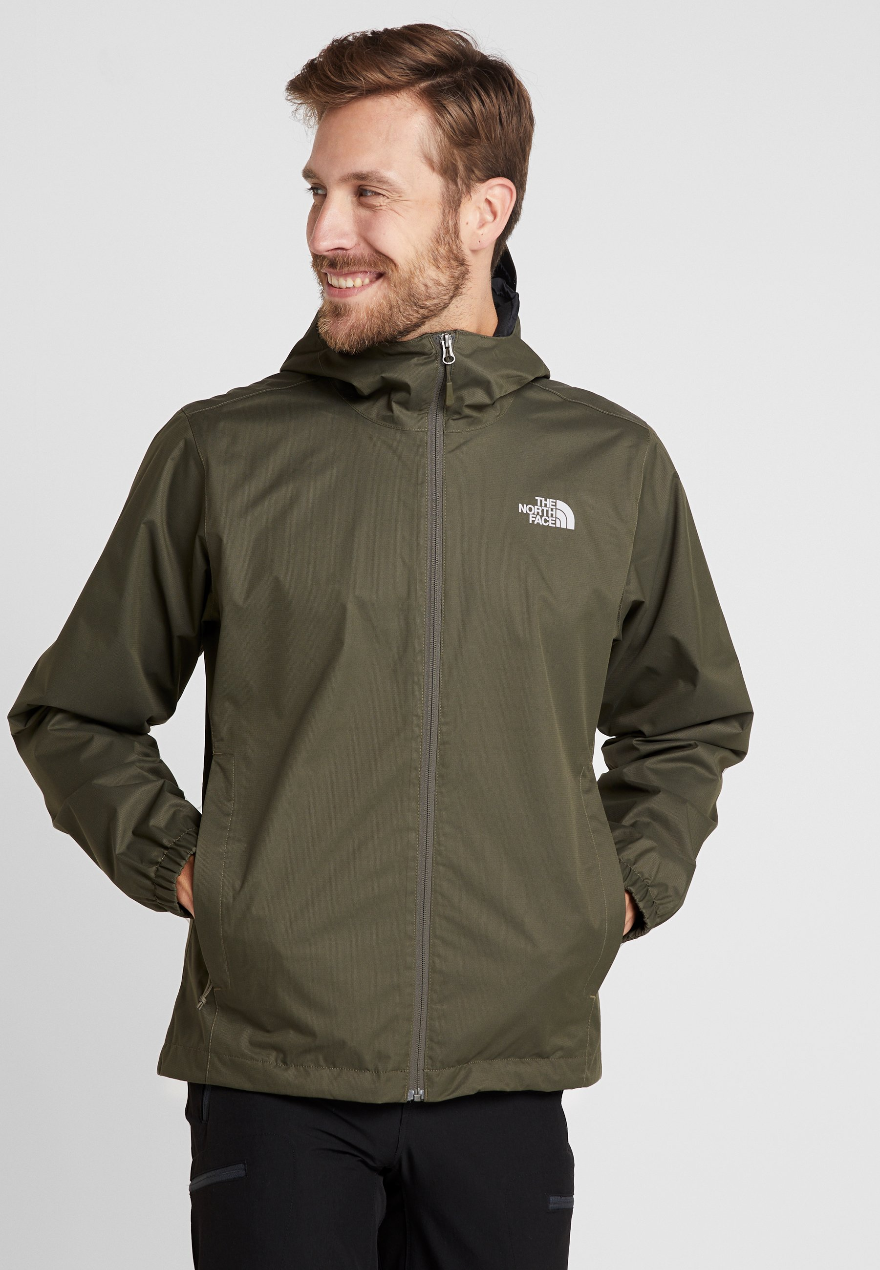 The North Face® Quest Hardshell Jacket Men mid grey black