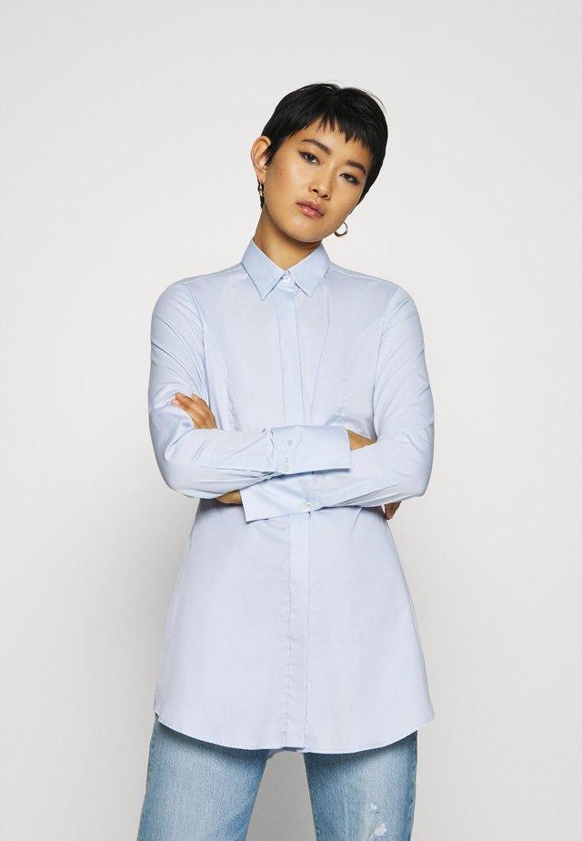 ELLEN - Hemdbluse - blau