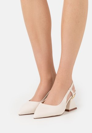 WIDE FIT JASMINE - Klassiske pumps - offwhite