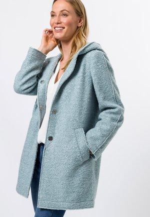 Halflange jas - dusky blue melange