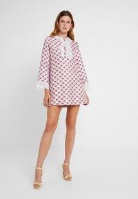 Sister Jane - FOAL RUFFLE MINI DRESS - Shirt dress - pink - 2
