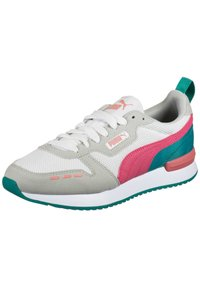 Puma - Trainers - white / glowing pink / gray violet - 2