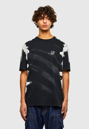 JUBIND - Print T-shirt - black