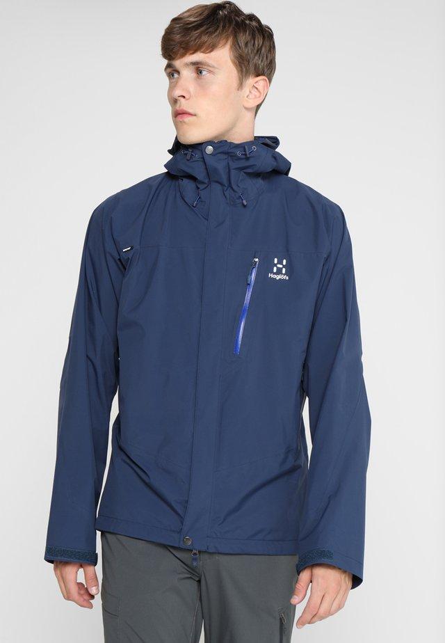 ASTRAL  - Hardshell jacket - tarn blue