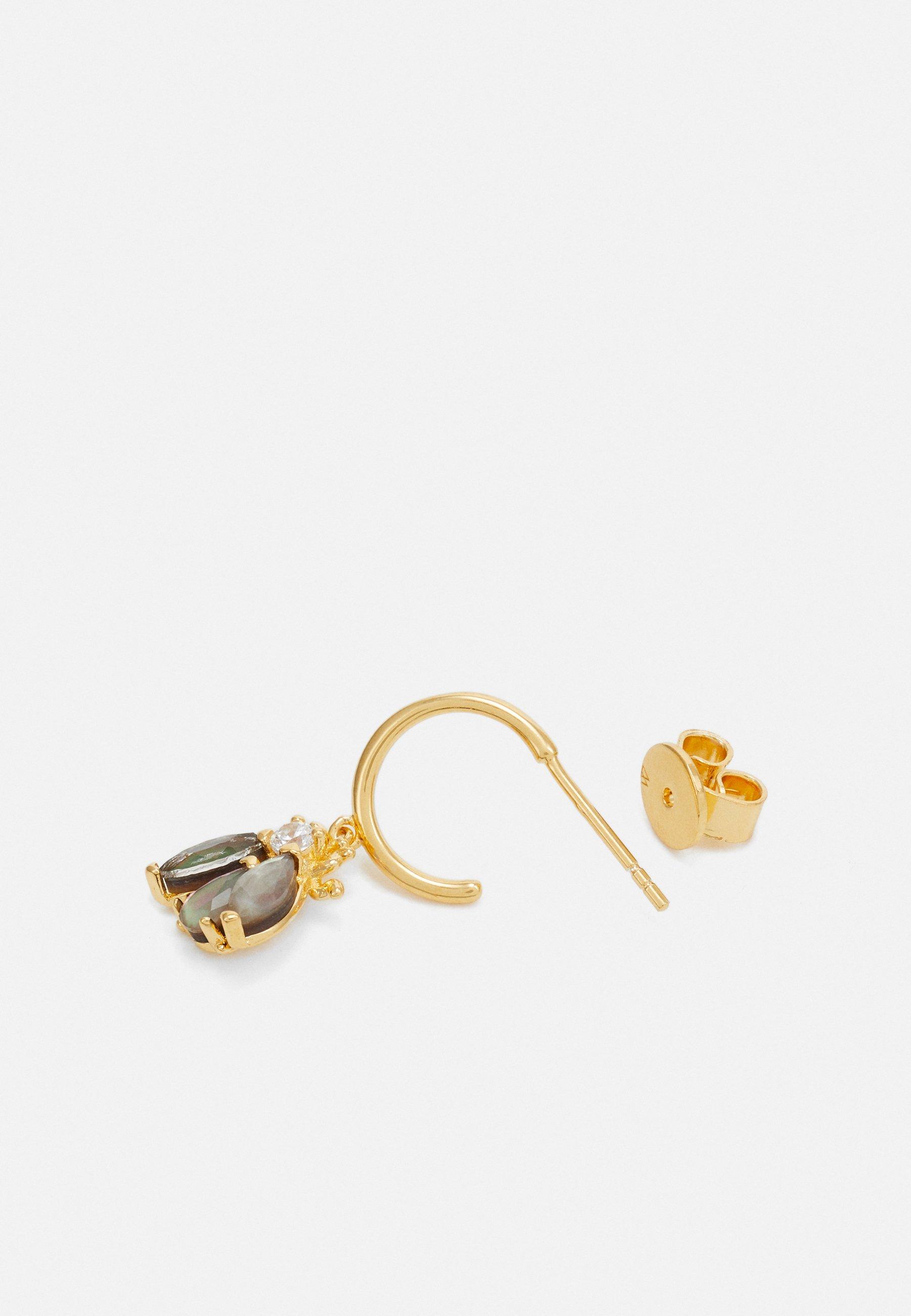 P D Paola Zaza - Ohrringe Gold-coloured/gold