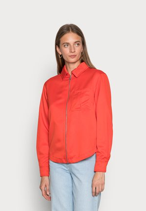 NEW CLASSICS - Button-down blouse - habanero red